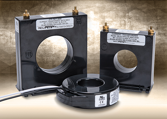 AutomationDirect introduces AcuAMP Solid Core current transformers