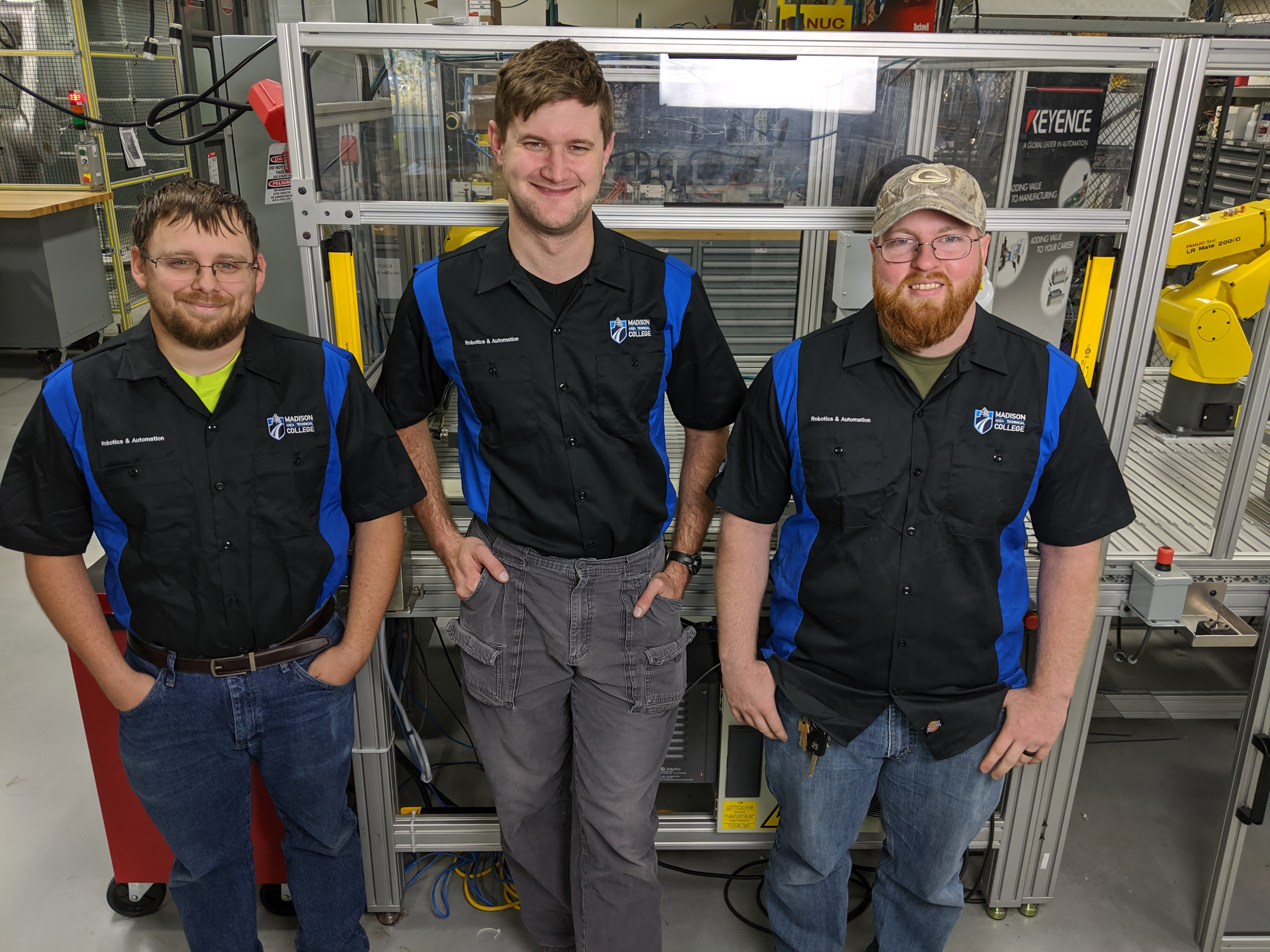Madison College students win Industrial Robotics Competition at Wisconsin Manufacturing and Technology Show