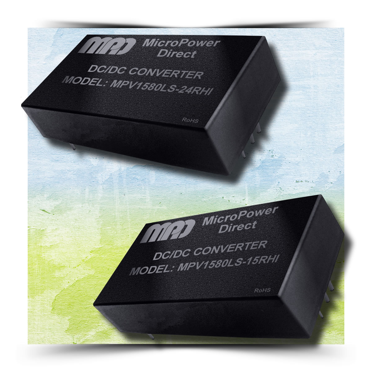 MicroPower Direct releases MPV5080LS series of DC/DC converters