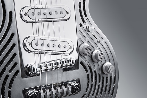 Sandvik creates 'unsmashable guitar' via additive manufacturing, 3D printing for Swedish guitarist