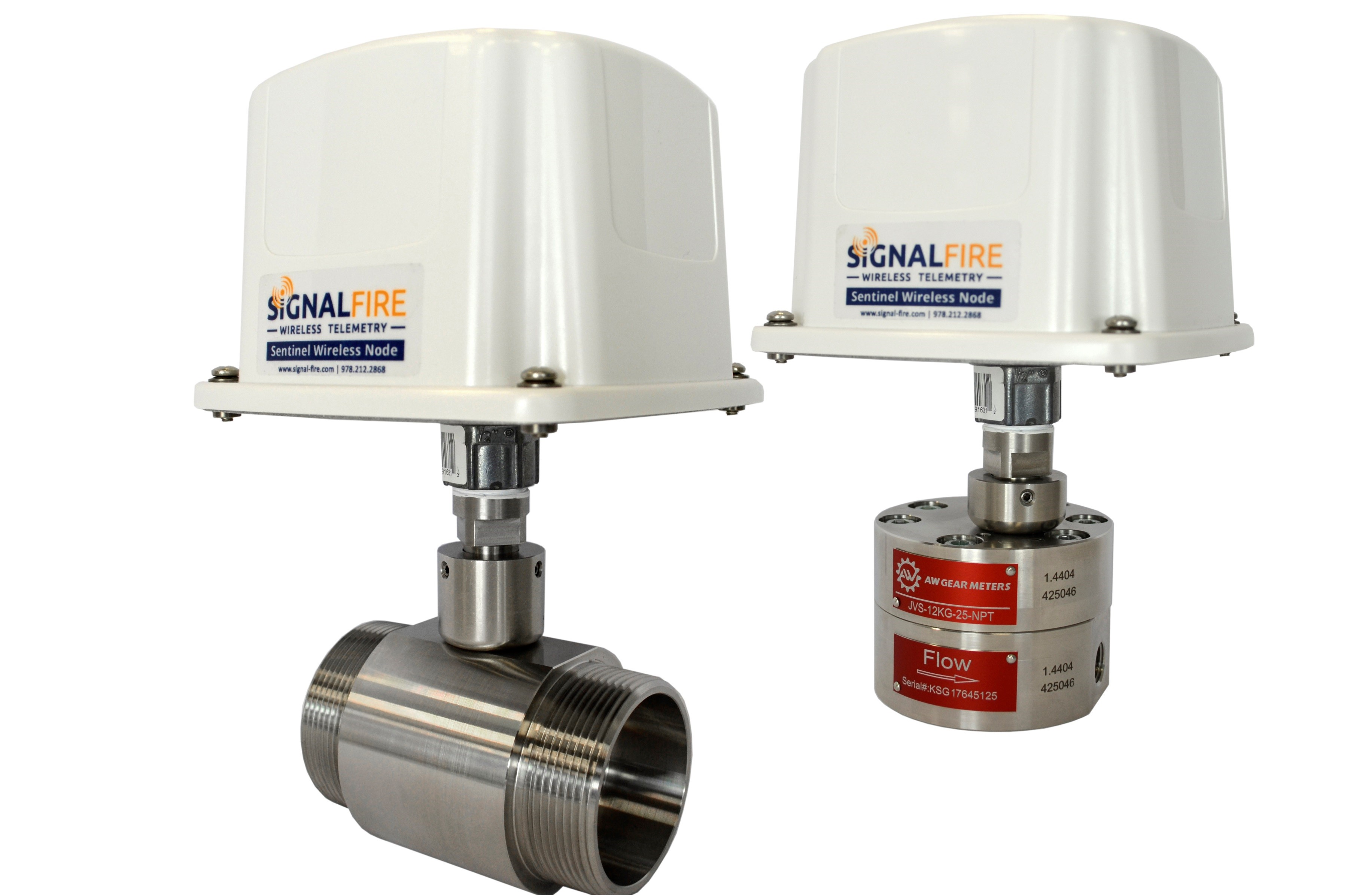 SignalFire and AW-Lake introduce SFS-WP wireless flow transmitter