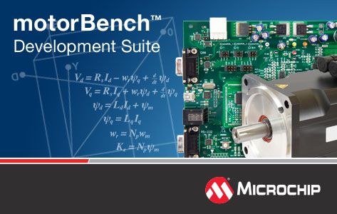Microchip introduces motorBench Development Suite for MPLAB X development environment