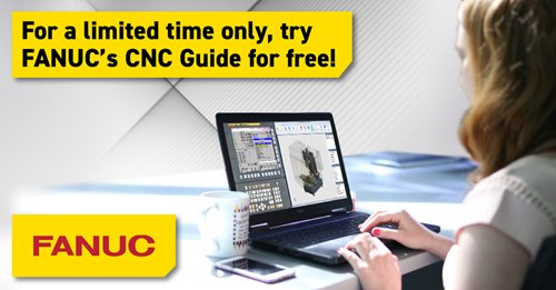 FANUC America offers free trial of CNC GUIDE