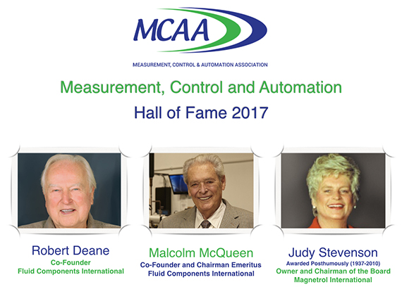 Measurement, Control & Automation Hall of Fame inducts three new members in 2017