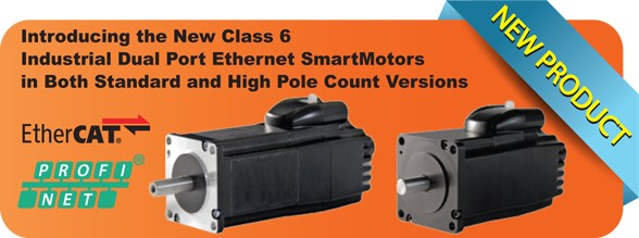 Moog Animatics introduces Class 6 SmartMotors