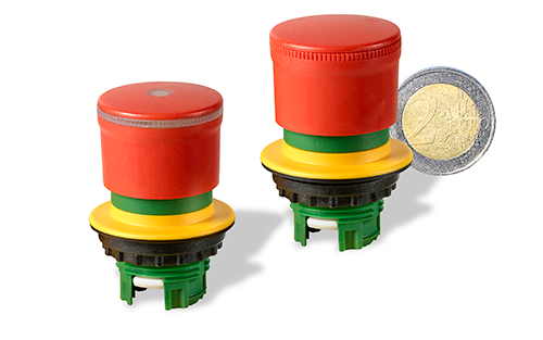 RS Components' Versatile Eaton Small E-Stop Emergency Button Has 360° Visibility