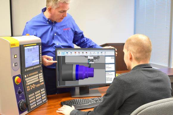 FANUC America introduces FANUC Machining Simulator with Fusion 360 software