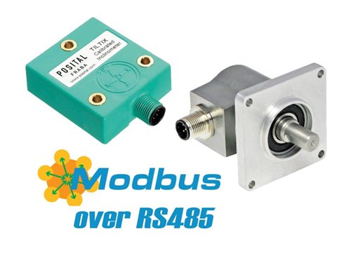 POSITAL Announces Position Sensors with Modbus RTU Interface