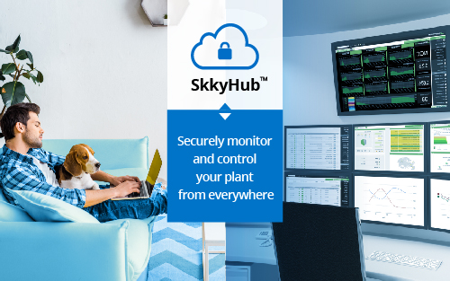In times of crisis, SkkyHub allows you to work from anywhere.  No VPNs, No security holes.  Industrial IoT Redefined.