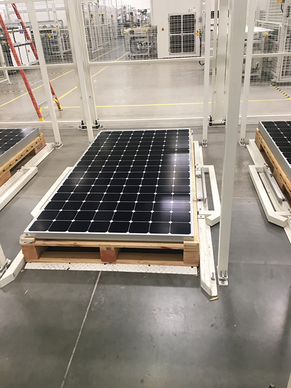 Lighthouse Systems helps SunPower integrate MES and automation in Mexican facility
