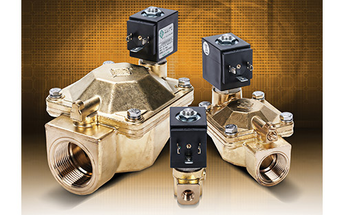 AutomationDirect Offers Brass-Bodied NSF Approved Potable Water Solenoid Valves