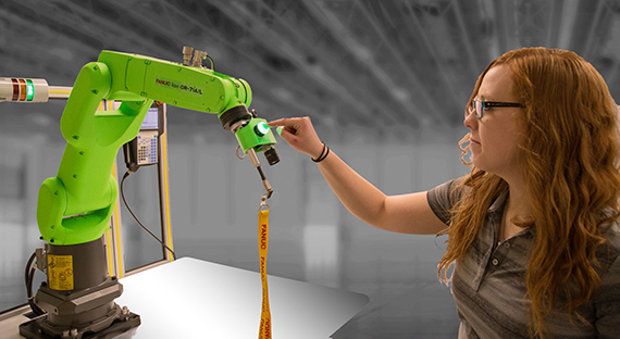 FANUC to introduce interactive education cart with CR-4iA collaborative robot