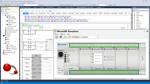Rockwell Automation announces updates to Connected Components Workbench software