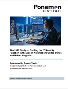 Ponemon Institute report: Security professionals anticipate automation will reduce IT security headcount