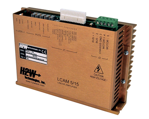 H2W Technologies introduces DC Linear Brush-Type Servo Amplifier
