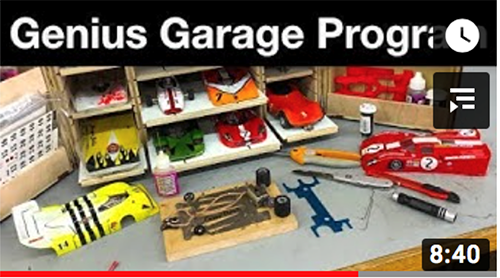 Genius Garage announces slot car STEM program in Detroit
