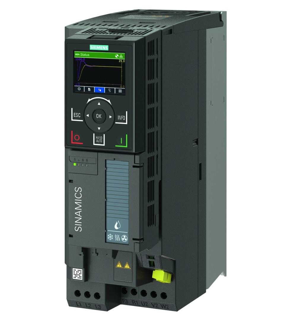 Siemens announces expansion of Sinamics IOP-2 for Sinamics G series converters' functionality to include FW V2.3 SP1 firmware update