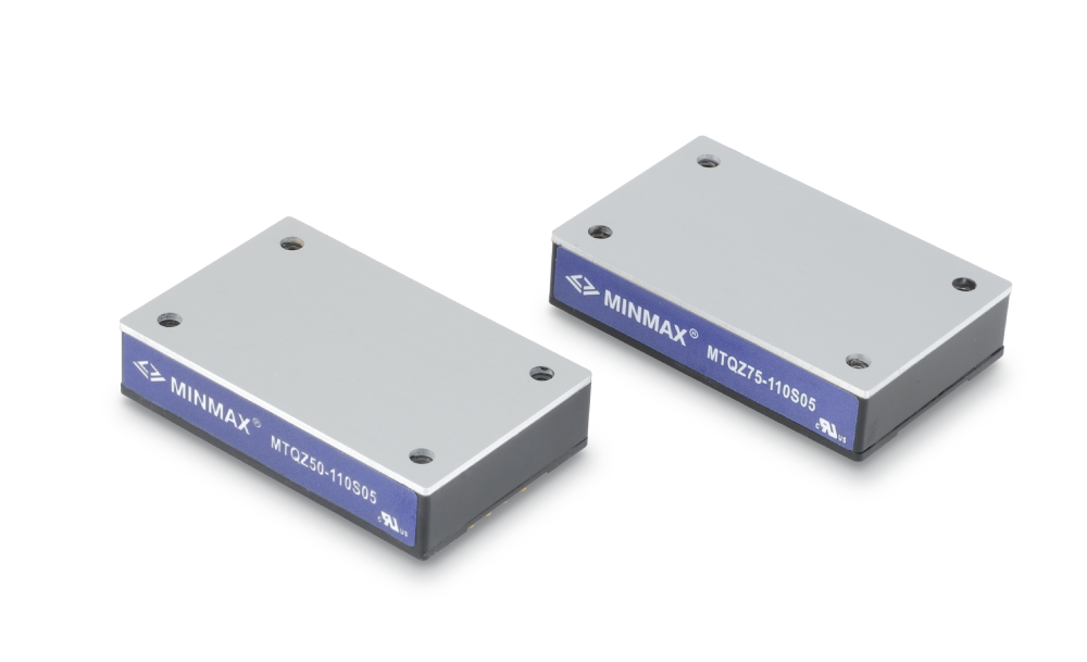 MINMAX releases MTQZ50 and the MTQZ75 DC-DC converter modules