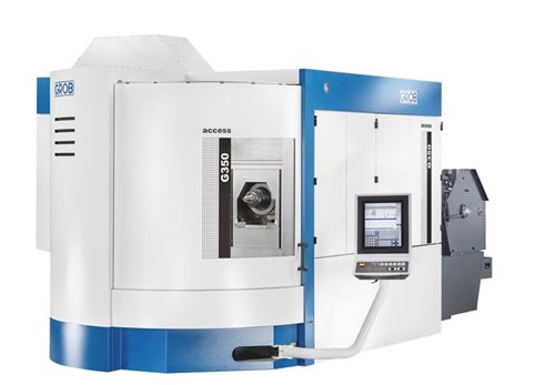 New Entry Level 5-Axis Universal Machine Technology Increases Job Shop Productivity