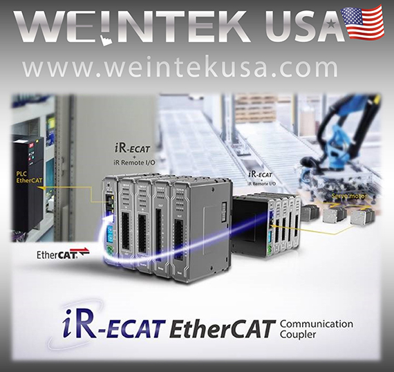 Weintek releases iR-ECAT EtherCAT communication coupler