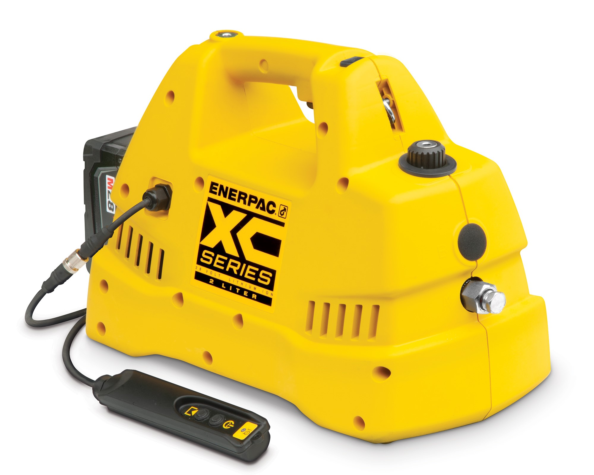 Enerpac announces XC1302S Cordless Dump and Hold Pump