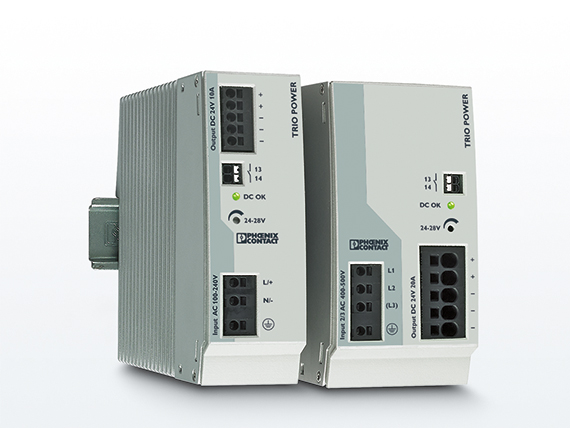 Phoenix Contact releases expanded voltage TRIO POWER range of power supplies