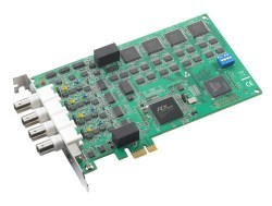 Advantech Introduces PCIe-1744 Analog Input Card