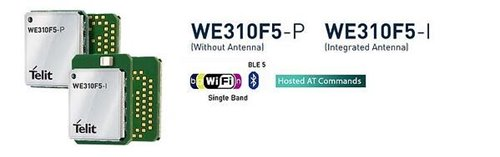 Telit introduces WE310F5 Wi-Fi and Bluetooth Low Energy (BLE5) module