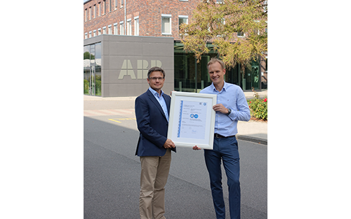 ABB Automation Products GmbH Achieves Secure Product Development Certification
