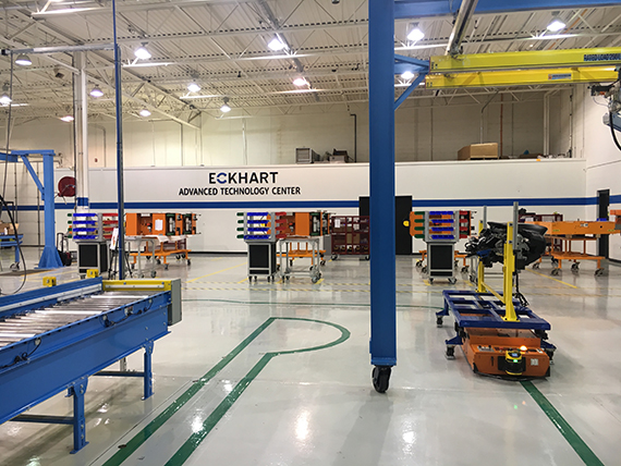 Eckhart announces opening of Advanced Technology Center in Michigan
