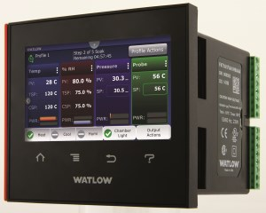 Watlow releases F4T temperature process controller