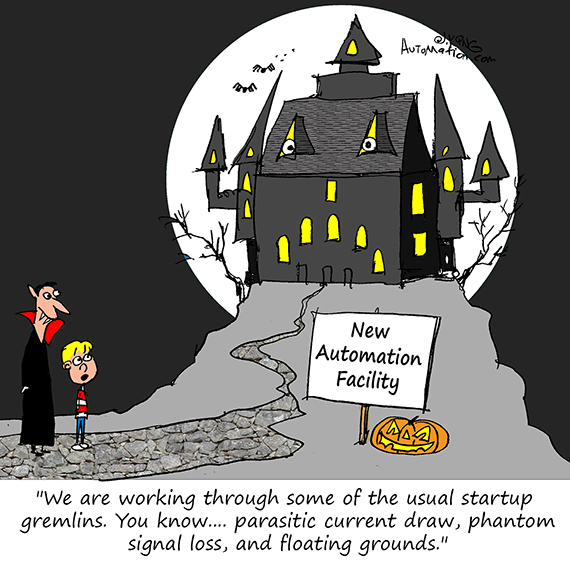 Otto Mation Comic Caption Contest - October 2019