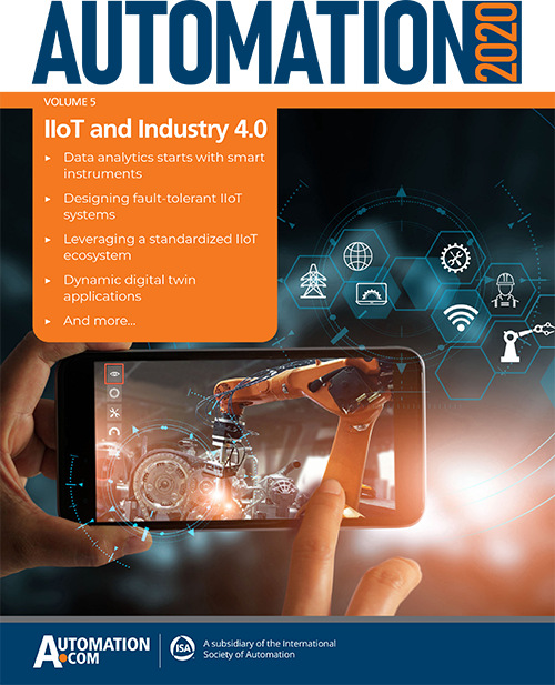 Automation 2020: IIoT and Industry 4.0