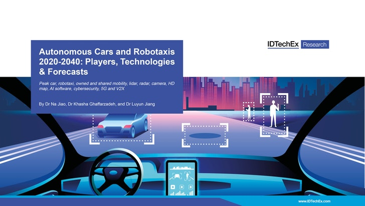 IDTechEx Report: Autonomous cars could accout for 4 trillion miles of road travel by 2040