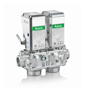 Emerson introduces ASCO Series 158 Gas Valve and Series 159 Motorized Actuator
