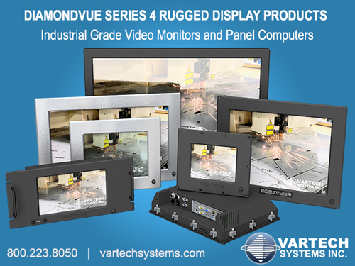 Rugged LCD Displays and Monitors