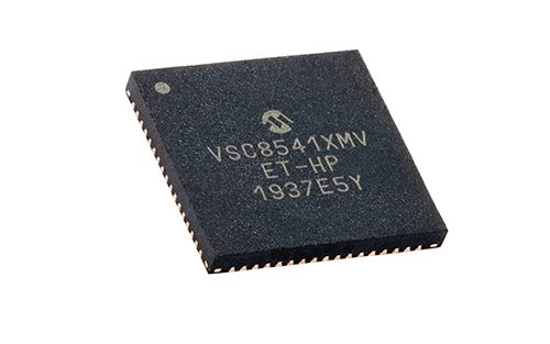 Microchip Introduces Extended-Temperature Ethernet PHY Transceiver for Aerospace & Military Ground-Based Applications