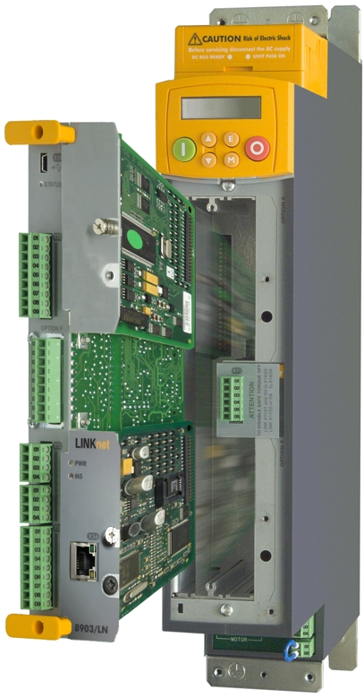 Parker Hannifin announces LINKnet capability for AC890 variable speed drives