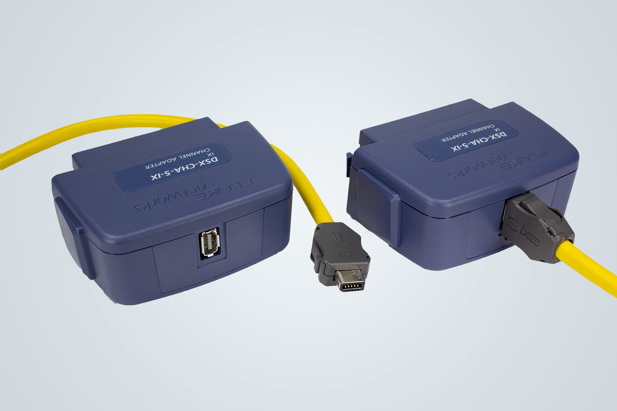 HARTING, HIROSE and FLUKE networks announce ix Industrial Ethernet Connector test adapter for FLUKE DSX CableAnalyzer