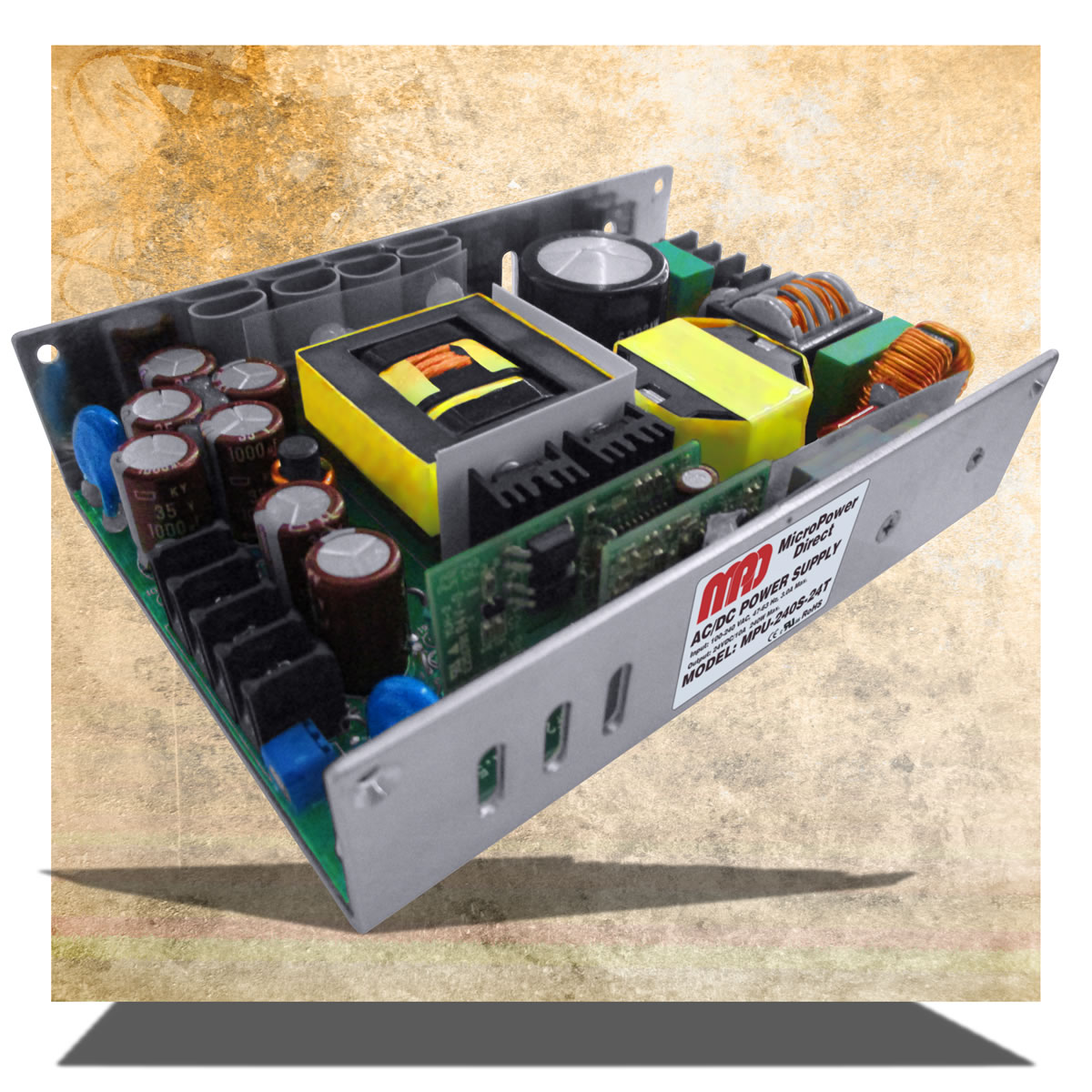 MicroPower Direct introduces MPU-240S series of AC/DC power supplies