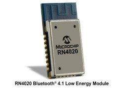 Microchip Announces RN4020 Bluetooth Module