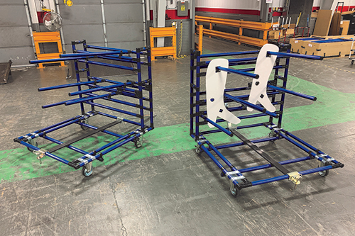 Creform announces cantilevered production cart