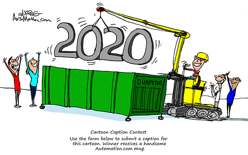 Automation Cartoons - January 2021