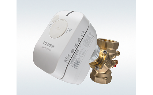 Siemens Actuator Line for Small Valves Operates as Quiet, Connected Multitasker