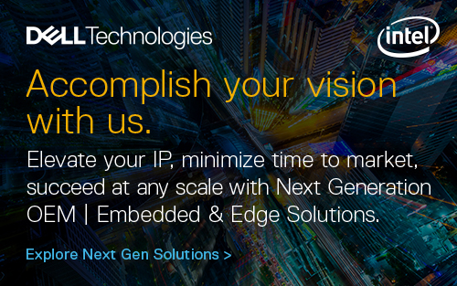 Elevate your IP, minimize time to market, succeed at any scale with Dell Technologies' Next Generation OEM Solutions.