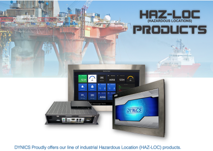 Dynics releases HAZ-LOC series of industrial computers for hazardous locations