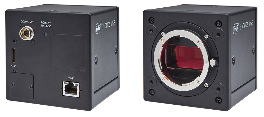JAI introduces Sweep+ SW-4000T-10GE line scan camera