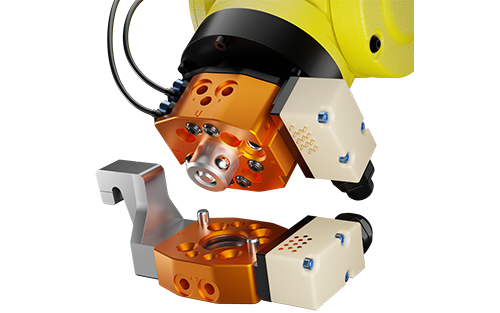 ATI Industrial Automation's QC-7 Robotic Tool Changer Provides Solution for Automatic End-effector Exchange
