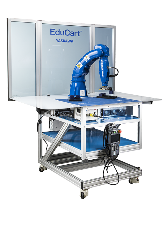 Yaskawa Motoman announces  EduCart workcell for education, workforce development, and Industry 4.0 applications