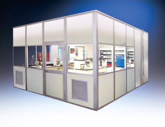 HEMCO introduces ModuLab custom-designed room enclosure with control system